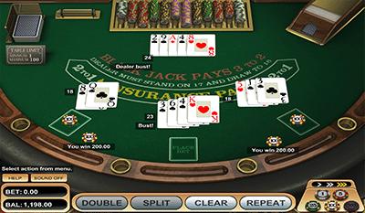 American blackjack online