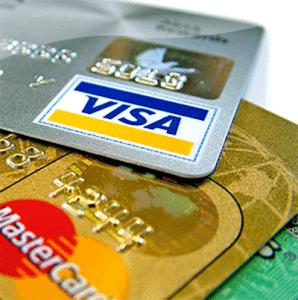 Credit card deposit
