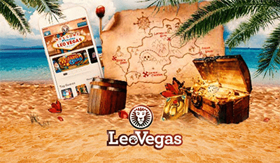 Leo Vegas Treasure Hunt promo