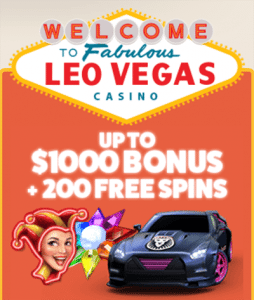 Leo Vegas Casino - Latest welcome bonus for Australian players