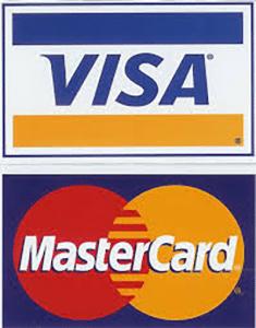 Visa MasterCard deposits