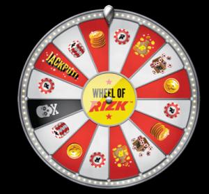 Wheel of Rizk bonuses and rewards