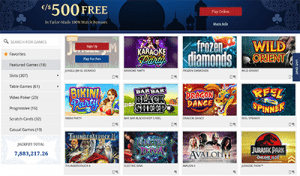 7Sultans online casino Microgaming games catalogue