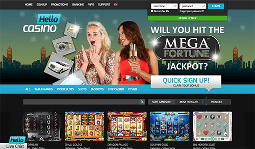 Hello Casino Australia review