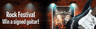 Win a Motorhead guitar