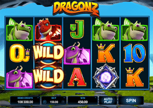 Play Dragonz online pokies at 32Red