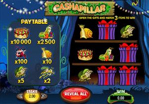 Cashapillar online scratchies