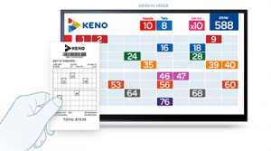 Online and offline keno games