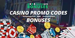 Casino bonuses and promos